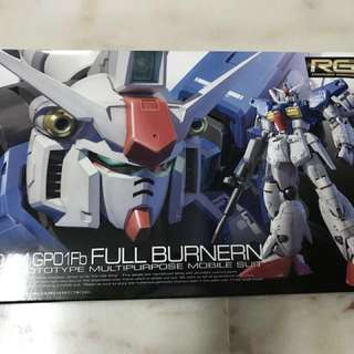 RG Gundam GP01 Full-Burnern