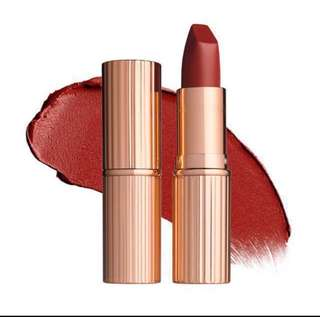 Charlotte Tilbury K.I.S.S.I.N.G (kissing) Lipstick (PM for the shades available)