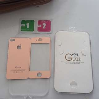 Screen Protector Glass Iphone 4g/s