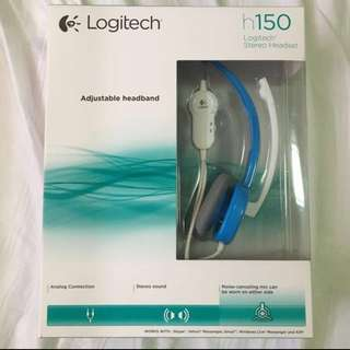 LOGITECH STEREO HEADSET WITH NOISE CANCELLING MIC