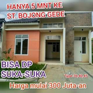 Rumah Dekat Stasiun Bojong Gede,Bogor