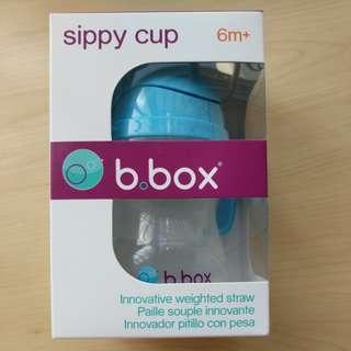 B box sippy cup 6m+ blue color