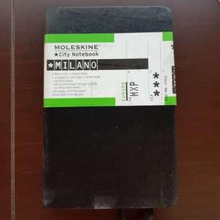 Original Moleskine Milano Notebook