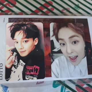 Chen SFY Official PC and Xiumin Lucky One PC