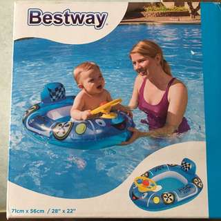 Inflatable Car for Swimming