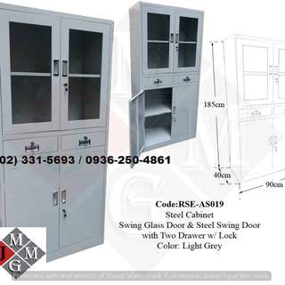 full height * steel filing cabinet - office partition