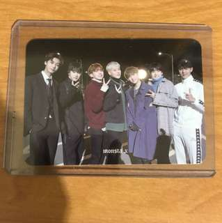 Monsta X The Code Group Photocard