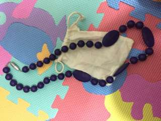 Teething Necklace + pouch from Baby Company
