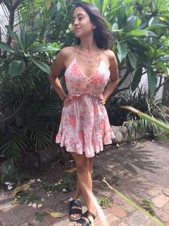 Floral Dress - Boost support