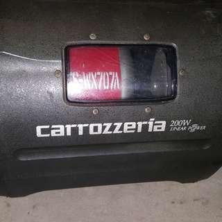 pioneer carrozerria subwoofer