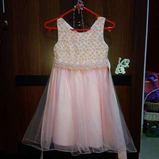 #ImlekHoki Dress Pink Tile