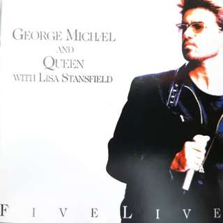 80s pop music George Michael with Queen and Lisa stansfield