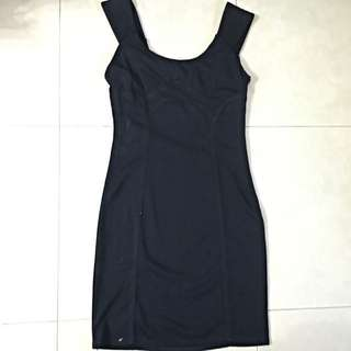 2 Way Navy Bodycon Dress