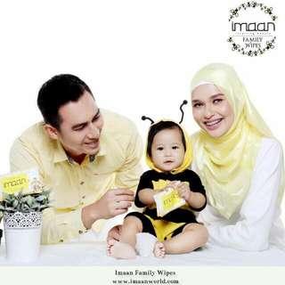 Imaan Family Wipes