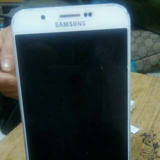 80%new .Samsung A8 WRITE.. 2g ram+16G ROM.. 100%work