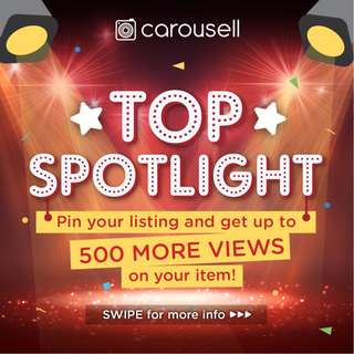 Try a Top Spotlight! 💡 ✨