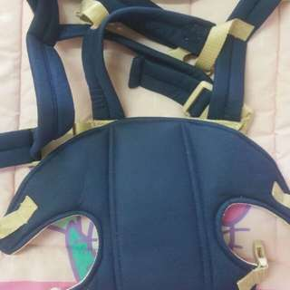 mollieandmommy blue baby carrier