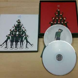 EXO Miracles in December CD with Tao photocard
