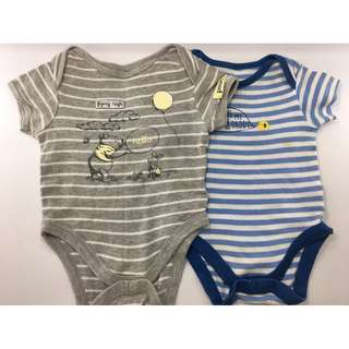 Rompers : Mothercare & Disney Baby ( Set of 2)