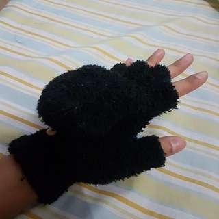 Convertible Fluffy Gloves
