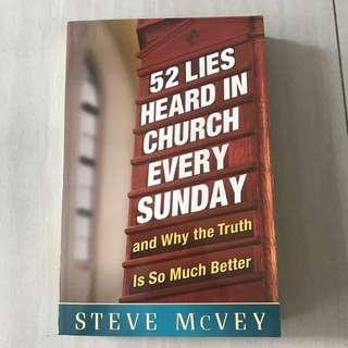 (Brand New) Steve McVey 52 Lies Heard In Church Every Sunday