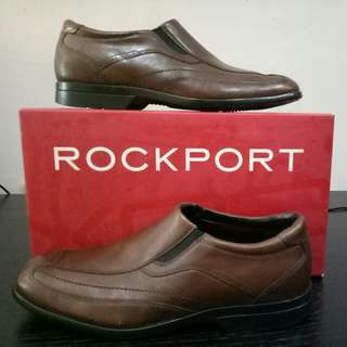 Rockport leather shoes, brown color, size 42.5