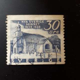 Old Sweden stamp