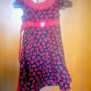 Dress Donita Size 4 Preloved Bagus Kondisinya