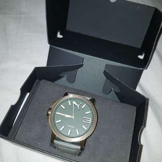 Jam tangan pria PUMA ORIGINAL leather