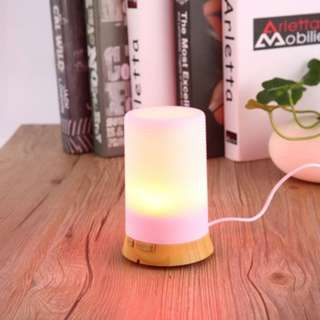 [PO19]Ultrasonic Essential Oil Diffuser Air Purify 7 Colors Night Light EU Plug