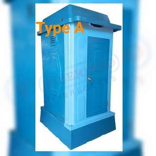 Toilet sementara.toilet proyek