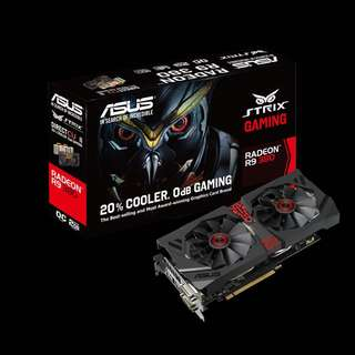Asus STRIX R9 380 2GB (STRIX-R9380-DC2OC-2GD5-GAMING)