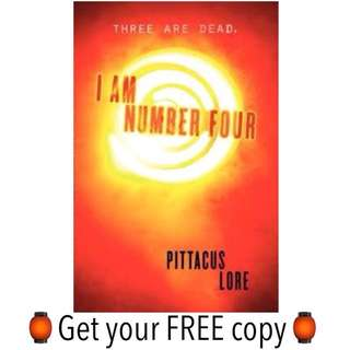 #FREE Ebook I AM NUMBER FOUR