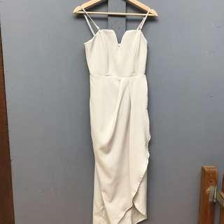 Elegant cream dress