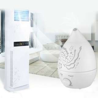 [PO22]1.6L Air Cleaner Air Humidifier Essential Oil Aroma Diffuser Mist Maker