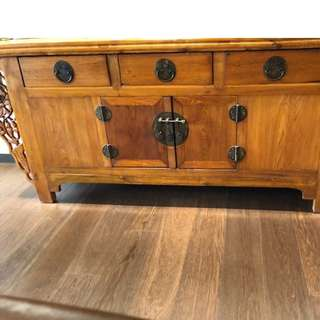 Cabinet (Antique Rosewood Cabinet)