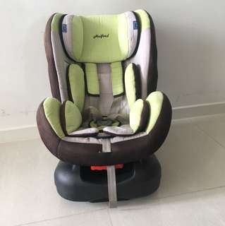 Halford Premier Zeus car seat (unisex)