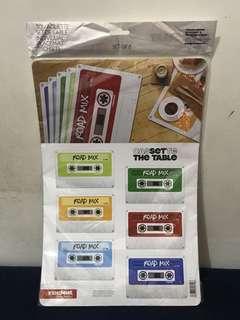 Cassette Placemat Set