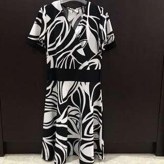 Black&White Summer Dress