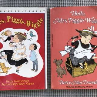 Mrs. Piggle Wiggle Books