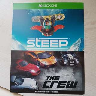 Steep and The Crew games (2 games) - Xbox