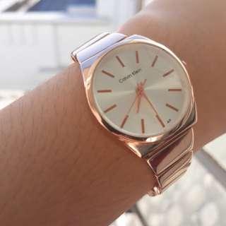Calvin Klein fashionable watch (rosegold)