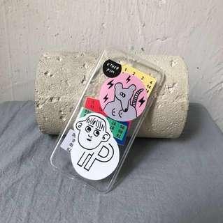 $100/任選3個 全新iphone7拼貼圖藝術軟殼 香港包郵