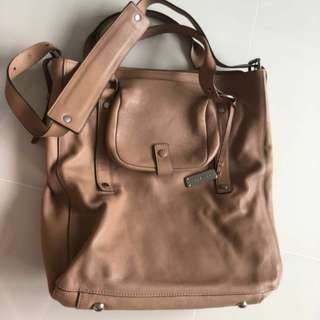 Leather Bag Rabeanco
