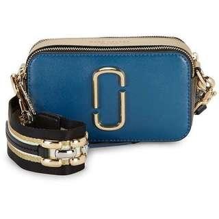 Marc Jacobs Snapshot Leather Crossbody Bag (PO)