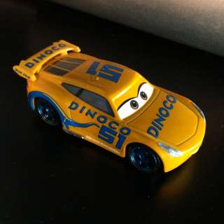 Dinoco Cruz Ramirez - Pixar Cars Mattel