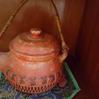 Vintage tea pot( candle holder)