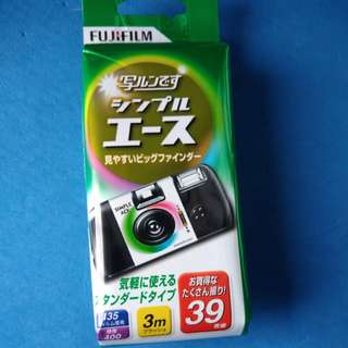 Fujifilm 內建底片 口袋相機 可拍攝39張照片 日本帶回