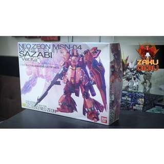 Bandai MG 1/100 Sazabi Ver Ka