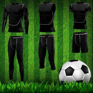 Soccer compression tights 3 for $50 nett